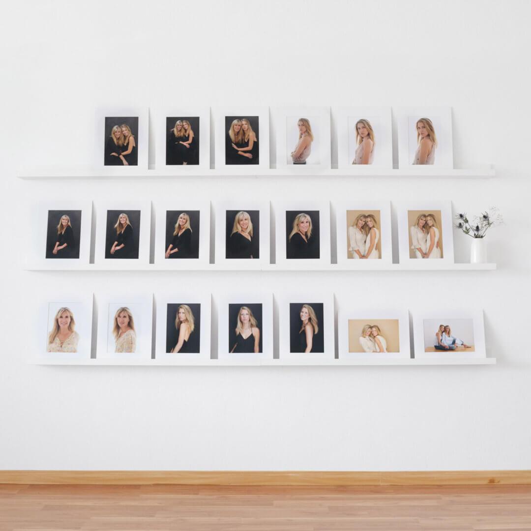 retratos en papel sesion de fotos familiar