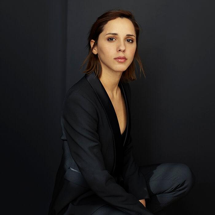 foto para book de actriz en estudio