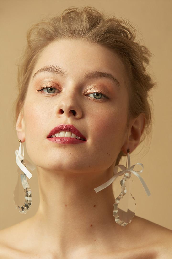 editorial maquillaje y peinado novias