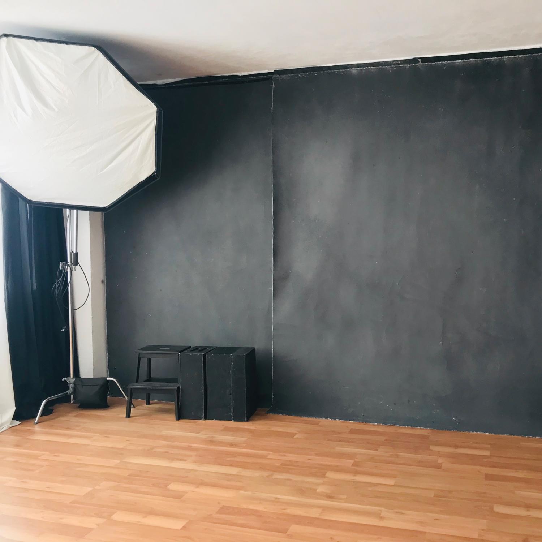 estudio fotografico para sesion de fotos de moda