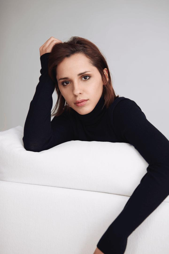 foto de estudio natural actriz