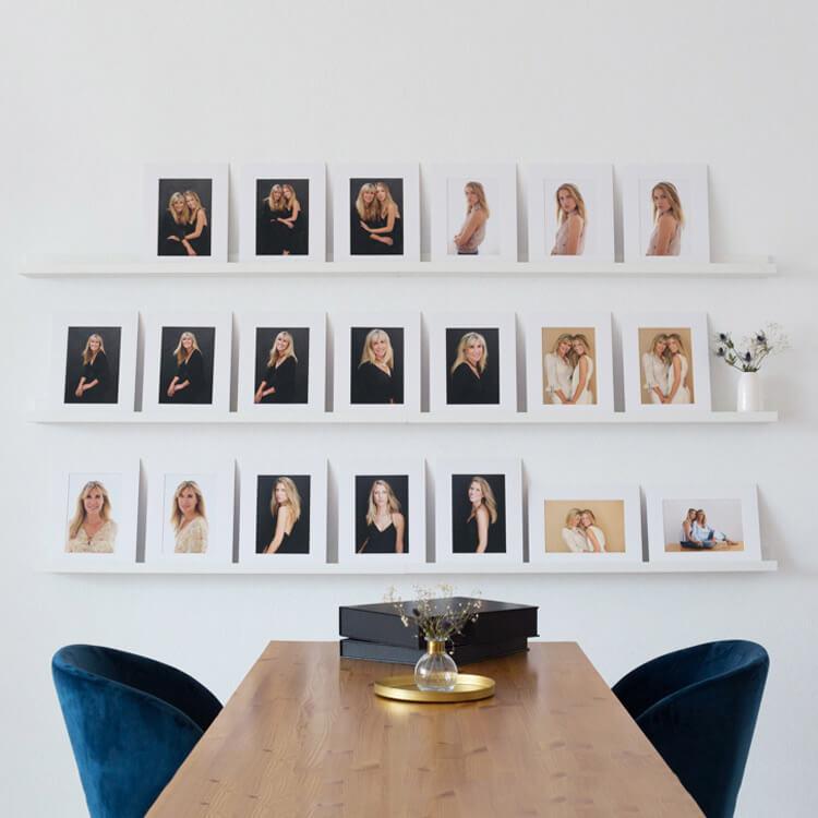 sesion de seleccion en estudio de retratos cristina robles