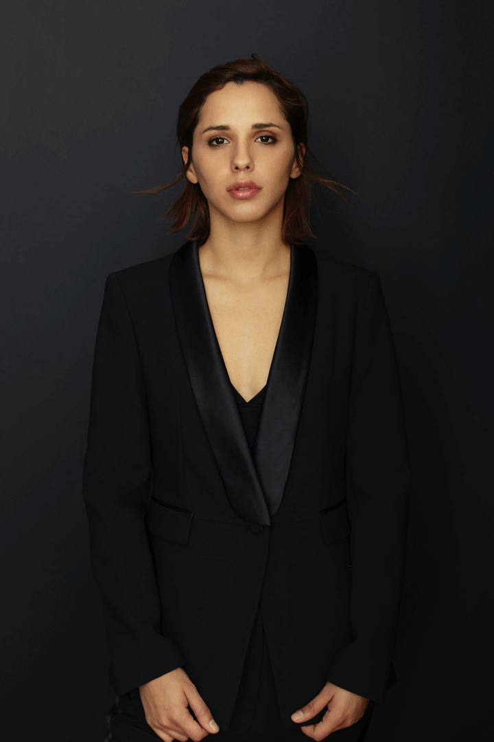 el maquillaje para fotos de actriz