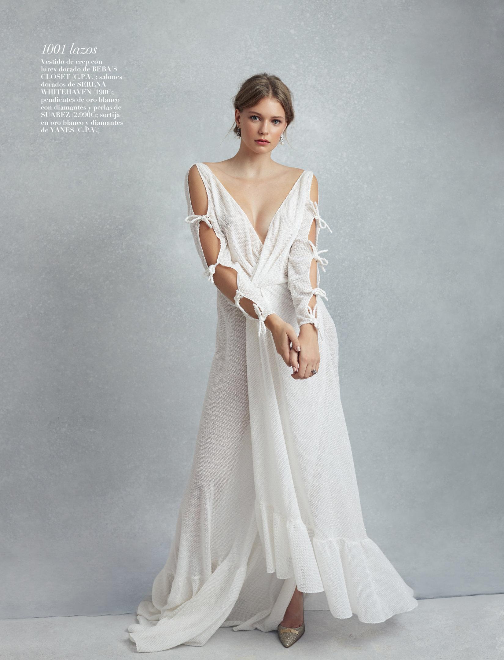 el vestido de novia mas romantico