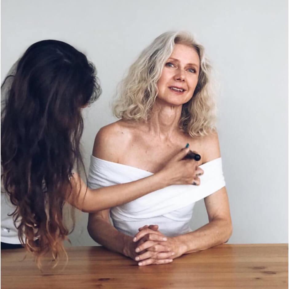 sesion de fotos con maquillaje en madrid